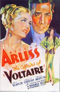 <i>Voltaire</i> (film) 1933 biographical film directed by John G. Adolfi