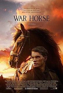 <i>War Horse</i> (film) 2011 war drama film by Steven Spielberg