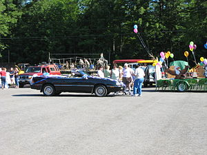 Windsor, Maine - The first annual Windsor Day's parade.