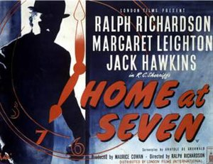 """Home at Seven (film) - Image: """"Home at Seven"""" (1952 film)"""