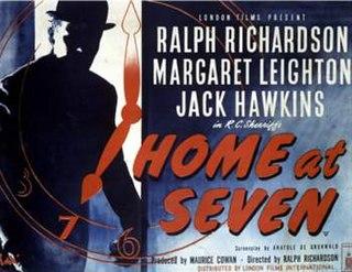 <i>Home at Seven</i> (film) 1952 film by Ralph Richardson
