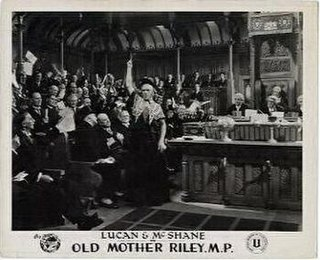<i>Old Mother Riley, MP</i> 1939 film by Oswald Mitchell