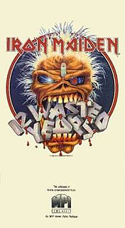 <i>12 Wasted Years</i> 1987 video by Iron Maiden
