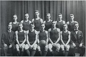 1915–16 Illinois Fighting Illini men's basketball team - Image: 1915 16 Fighting Illini men's basketball team