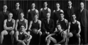 1928–29 Michigan Wolverines men's basketball team - Image: 1928 1929 Michigan Wolverines men's basketball team