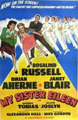 My Sister Eileen (1942 film) - Original poster
