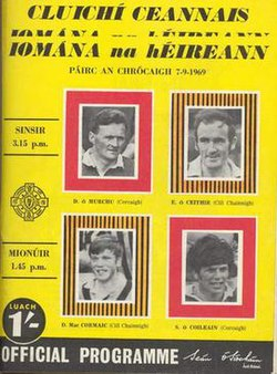 1969 All-Ireland hurling final programme.jpg