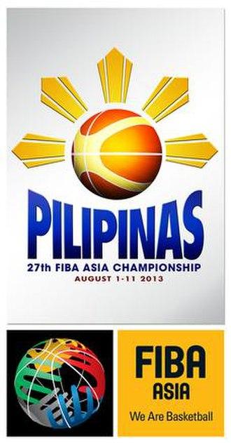 2013 FIBA Asia Championship - Image: 2013 FIBA Asia Championship logo