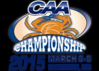 2015 CAA Men's Basketball Tournament - Tournament Logo