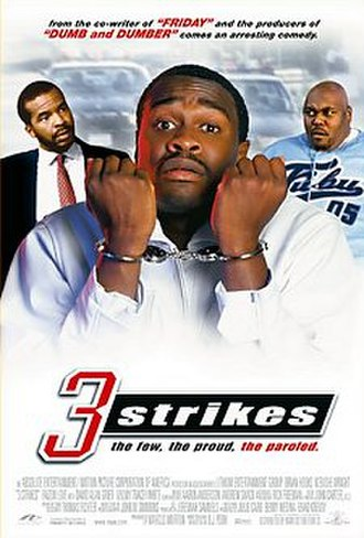 3 Strikes (film) - Theatrical release poster