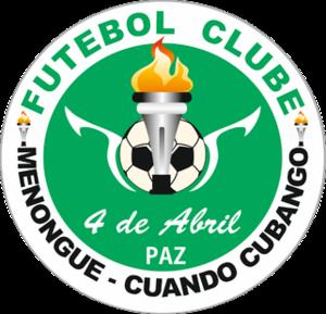 4 de Abril F.C. do Cuando Cubango - Image: 4 de Abril F.C. do Cuando Cubango Logo
