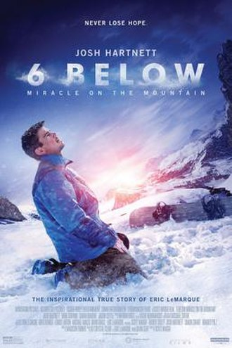 6 Below: Miracle on the Mountain - Theatrical release poster