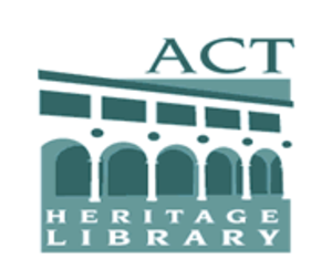 ACT Heritage Library - Image: ACT Heritage Library Gif