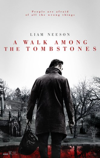 A Walk Among the Tombstones (film) - Theatrical release poster