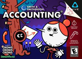 Accounting (video game) - Image: Accounting Video game cover