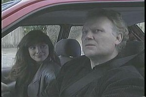 The Airzone Solution - Nicola Bryant and Colin Baker in a scene from the film
