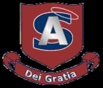 All Saints Catholic High School (Ontario) - Image: All Saints School Logo