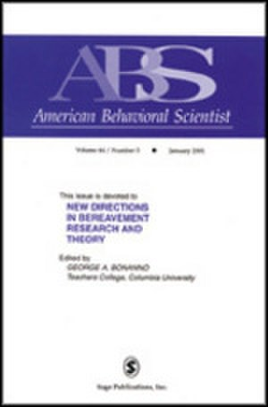 American Behavioral Scientist - Image: American Behavioral Scientist Journal Front Cover