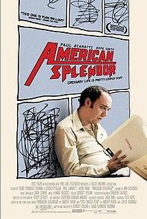 <i>American Splendor</i> (film) 2003 American biographical film about Harvey Pekar