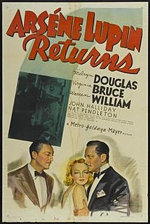 <i>Arsène Lupin Returns</i> 1938 film by George Fitzmaurice