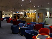 BMI Diamond Club / Business lounge at Heathrow Terminal One