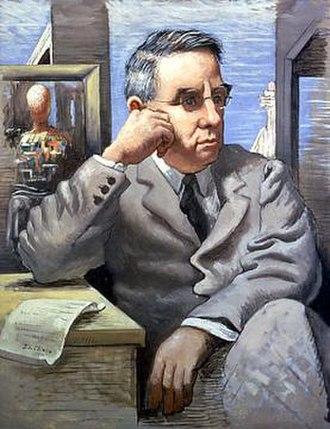 Albert C. Barnes - Giorgio de Chirico, Portrait of Albert C. Barnes, 1926
