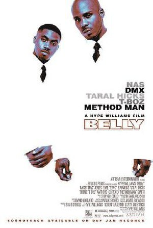 Belly (film) - Theatrical release poster