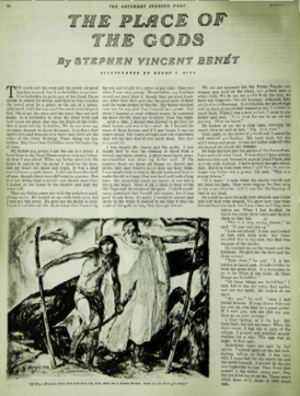By the Waters of Babylon - First page of the story with its original title in The Saturday Evening Post (1937)