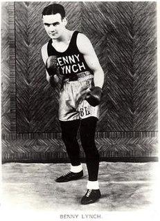 Benny Lynch British boxer