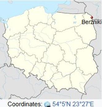 Abraham Jacob Hollandersky - Berzniki in Northeastern Poland