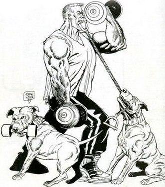 Big Dave (comics) - Image: Big Dave comics