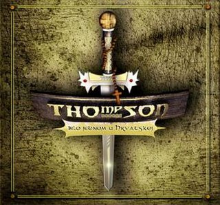 <i>Bilo jednom u Hrvatskoj</i> 2006 studio album by Thompson