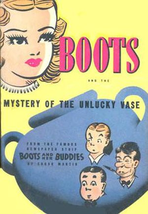 Boots and Her Buddies - Image: Bootsvase