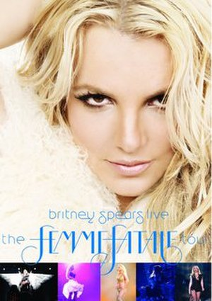 Britney Spears Live: The Femme Fatale Tour - Image: Britney Spears Femme Fatale Tour DVD cover