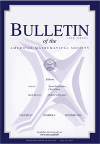 Bulletin of the American Mathematical Society cover.png