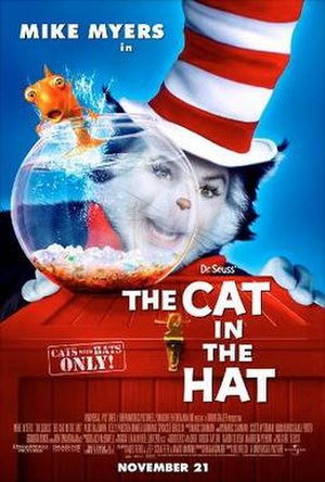 The Cat in the Hat (film) - Theatrical release poster