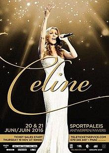 Celine Dion Live 2016 Tour Antwerp Promo.jpg