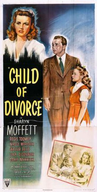 Child of Divorce - Image: Child of Divorce Film Poster