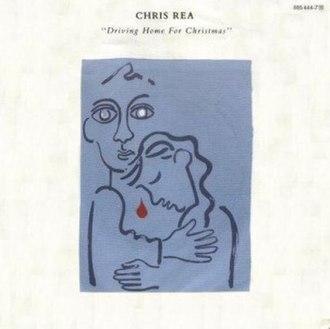 Driving Home for Christmas - Image: Chris Rea Driving Home for Christmas Cover