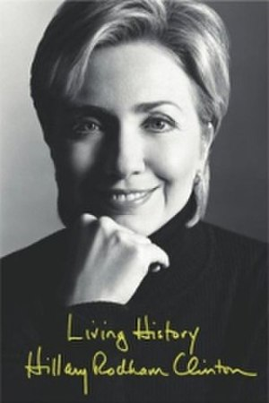 Living History (book) - Image: Clinton Living History coverart