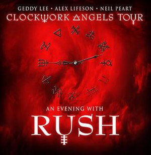 Clockwork Angels Tour - Tour promotional poster