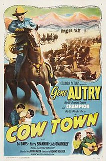 <i>Cow Town</i> 1950 film by John English