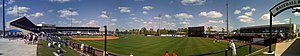 Charlotte Sports Park - Image: Csp panorama 1