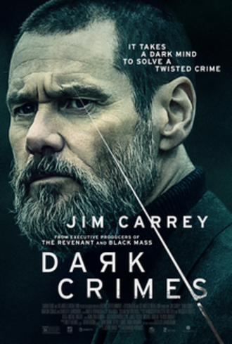 Dark Crimes - Theatrical release poster