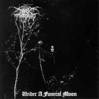 Under a Funeral Moon - Image: Darkthrone Under a Funeral Moon