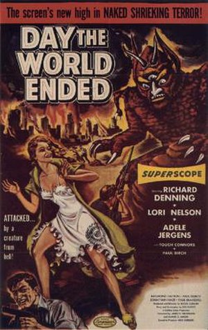 Day the World Ended - Theatrical release poster by Albert Kallis