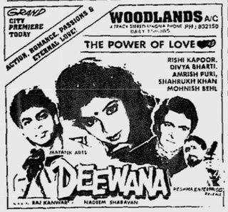 <i>Deewana</i> (1992 film) 1992 Indian film by Raj Kanwar