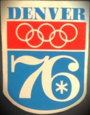 Bids for the 1976 Winter Olympics - Image: Denver 1976 Olympic bid logo