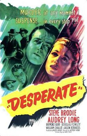 Desperate (film) - Theatrical release poster