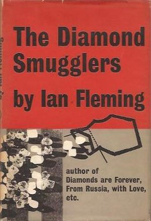 The Diamond Smugglers - First edition cover